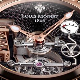 Louis Moinet представляет Derrick Gaz - часы выполненные по технологии XIX века