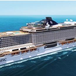 Новый корабль от MSC: MSC Seaside