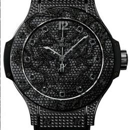 Hublot Big Bang Broderie All Black Diamonds