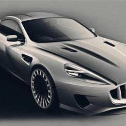 Kanh представляет суперкар на базе Aston