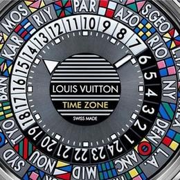 Louis Vuitton Escale Timezone – стильные и красочные часы