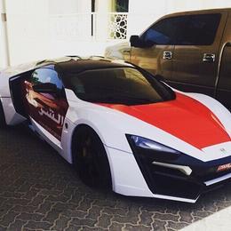 Полиция Абу-Даби обзавелась редчайшим Lykan Hypersport за $3,5 млн