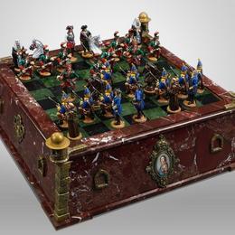 Коллекционные шахматы «Северная война»