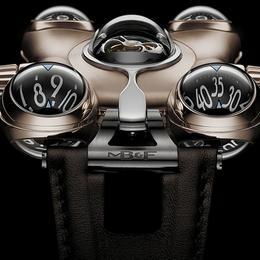 Удивительные часы  MB&F HM6 RT выпущены в красном золоте
