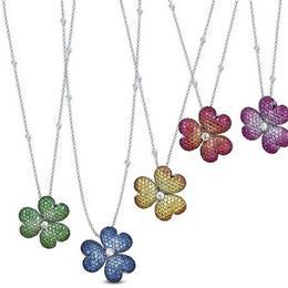 Вечные цветы: эксклюзивное ожерелье от Mouawad