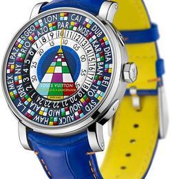 Мир как танцпол – красочные и технически сложные часы Escale Worldtime от Louis Vuitton