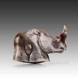 Носорог из агата