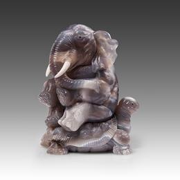 Слон на черепахе