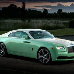 Rolls Royce Wraith Jade Pearl: эксклюзивно для Майкла Фукса