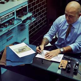 Татуировщик для Montblanc Мо Копполетта