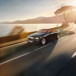 Кабриолет на четверых: Rolls Royce Dawn