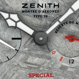 Zenith Pilot Type 20 Hommage a Louis Bleriot – часы с циферблатом из настоящего метеорита