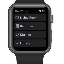 Контролируйте все домашние развлечения при помощи Apple Watch и B &O