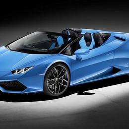 Lamborghini представил модель Huracan LP 610-4 Spyder