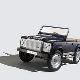 Детский педальный Land Rover за $15000