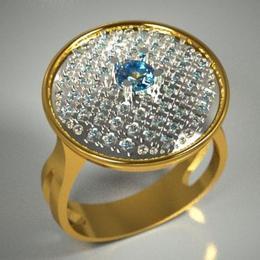 "Коктейльное кольцо ""Pulsante"""