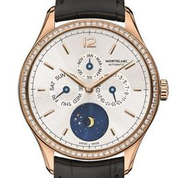 Montblanc Chronométrie Quantième Annuel Vasco da Gama Diamonds Limited Edition 90