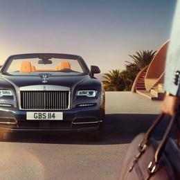 Четыре причины, по которым новый Rolls Royce Dawn называют самым сексуальным автомобилем