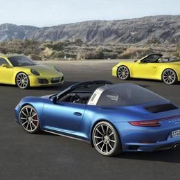 Porsche 911 Carrera и Targa 4 оснащены новым 3.0-литровым двигателем