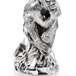 """Серебряная статуэтка """"Мыслитель"""" (серебро)"""