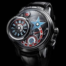 Harry Winston Opus 14: уникальные часы с тремя дисками