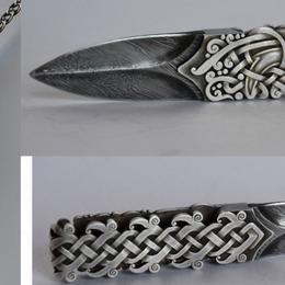 Нож-подвеска «Скандинавский крылатый»