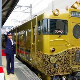 Роскошный поезд Aru Ressa начинает обслуживать пассажиров в Кюсю