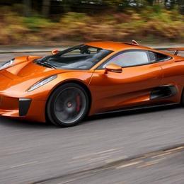 Jaguar C-X75 из фильма «Спектр» может оставить в пыли Aston Martin DB10