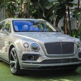 Дебют Bentley Bentayga