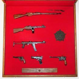 Коллекция стреляющих миниатюр ВОВ СССР