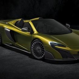 McLaren 675LT Spider: в списке желаний