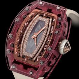 Только сапфиры:  Richard Mille RM 07-02 Pink Lady Sapphire
