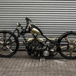Gold-Digger: первый в мире мотоцикл с 30-дюймовыми колесами
