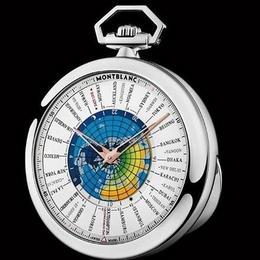 Первые карманные часы от Montblanc