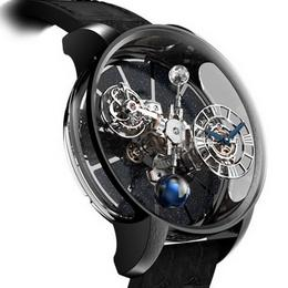 Astronomia Gravitational Triple Axis Tourbillon Black Gold – красиво и сложно