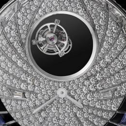 Особое ожерелье: Cartier Tourbillon Mystérieux Azuré