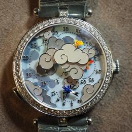 Van Cleef and Arpels представляют Arpels Ronde des Papillons – часы с механическим анимированным циферблатом