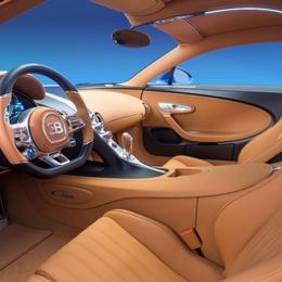 В аудиосистеме Bugatti Chiron используются бриллианты