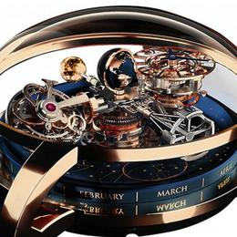 Jacob and Co. представляют невероятно сложный Astronomia Sky Celestial Panorama Gravitational Triple Axis Tourbillion
