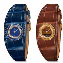 Hermès представил великолепную модель часов Faubourg Manchette Joaillerie