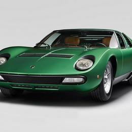 Выставка Lamborghini Miura