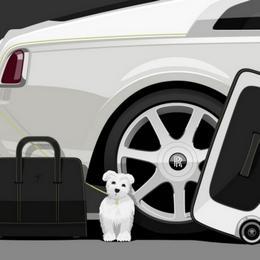 Дороже автомобиля: комплект для путешествий от Rolls-Royce