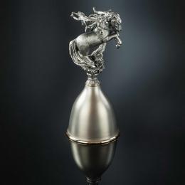 Бокал Лошадь (серебро)