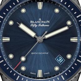 Blancpain Fifty Fathoms Bathyscaphe перевыпускаются в керамическом корпусе