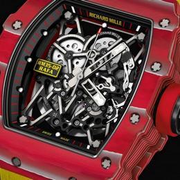 Richard Mille представляет первые часы с автоподзаводом из коллекции Rafael Nadal