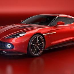 В красных тонах: новый концепт Aston Martin Vanquish Zagato