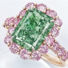 Редкий зеленый бриллиант продан за $16,8 млн