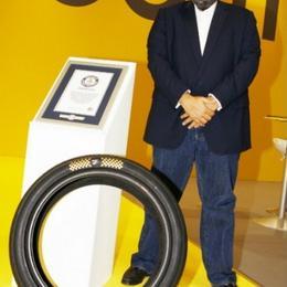 Самые дорогие шины в мире украшены бриллиантами и золотом