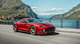Ограниченный тираж: Aston Martin Vanquish Zagato Coupe