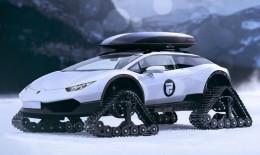 По снегам с комфортом: Lamborghini Huracan Snowmobile